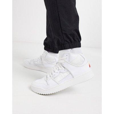ELLESSE Ellesse – Assist – Hohe Sneaker aus Leder in Weiß