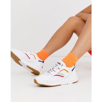 Ellesse – Contest – Weiße Ledersneaker mit Kontrastdesign | ELLESSE SALE