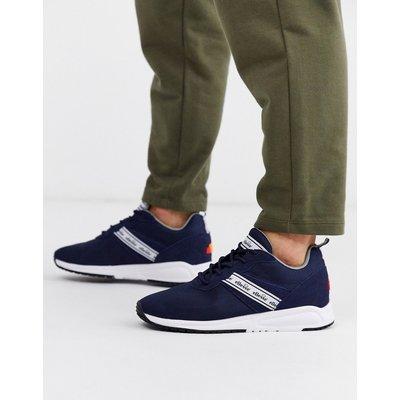 Ellesse – Menfi – Sneaker in Marine/Rot-Navy