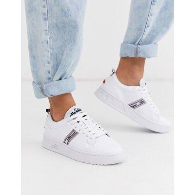 Ellesse – Weiße Ledersneaker