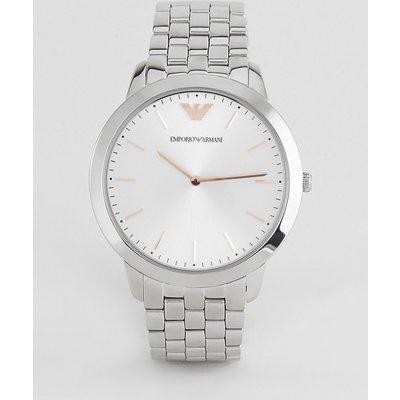 Emporio Armani – AR2484 – Damen-Armbanduhr aus Edelstahl-Silber