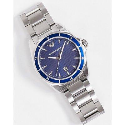 Emporio Armani – Armbanduhr aus Edelstahl-Silber