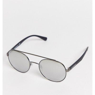 Emporio Armani – EA2051 – Pilotenbrille-Silber