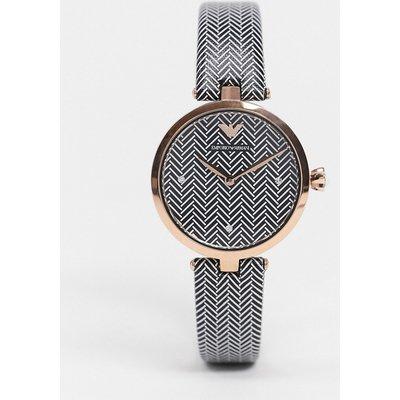 Emporio Armani– Schwarze Armbanduhr