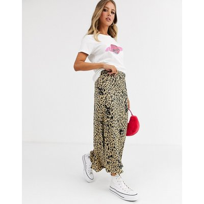 Fabienne Chapot Claire printed midi skirt-Multi