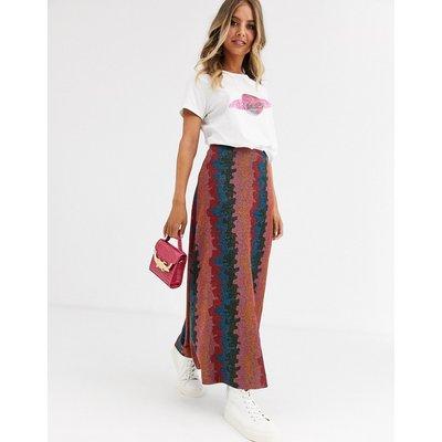 Fabienne Chapot Phene jacquard maxi skirt-Multi