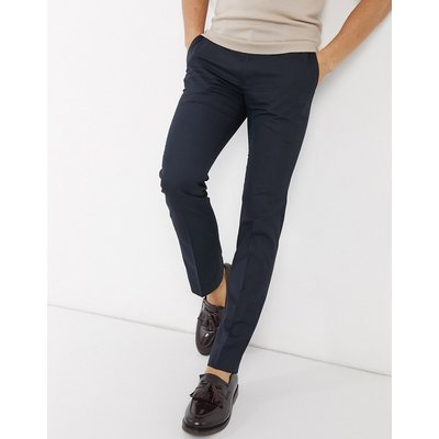 French Connection – Elegante Hose mit enger Passform-Navy