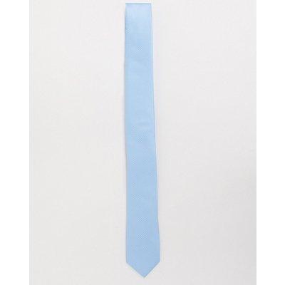 French Connection – Gepunktete Krawatte-Blau