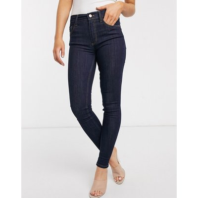 French Connection – Jeans in Blau verwaschen-Grau