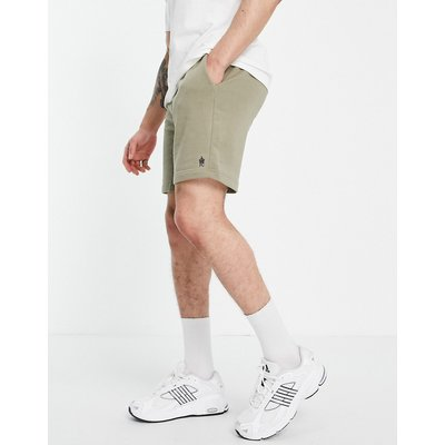French Connection – Jersey-Shorts in hellem Khaki-Grün   FRENCH CONNECTION SALE
