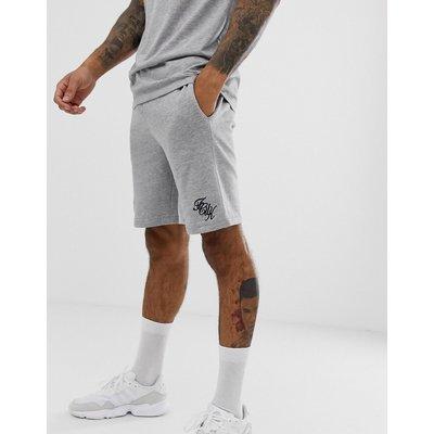 French Connection – Jersey-Shorts mit Logo-Schriftzug-Mehrfarbig