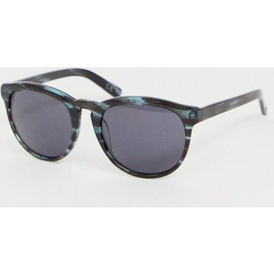 French Connection – Katzenaugen-Sonnenbrille in Blau-Navy