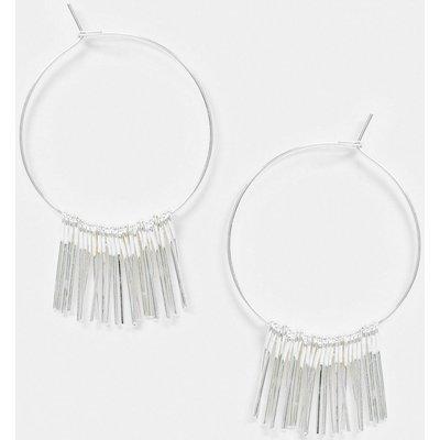 French Connection – Ohrringe mit Quastendetail in Silber