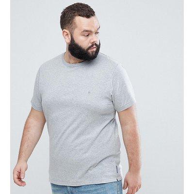 French Connection PLUS – Basic-T-Shirt mit Rundhalsausschnitt-Grau