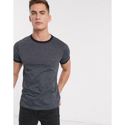 French Connection Ringer-T-Shirt-Marineblau   FRENCH CONNECTION SALE