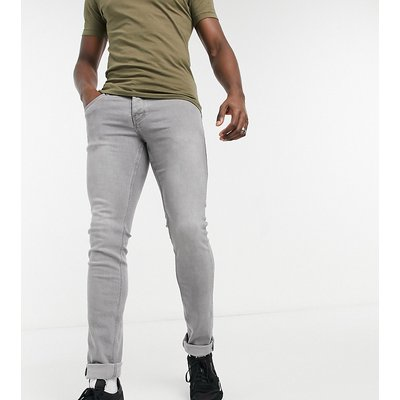 French Connection Tall – Eng geschnittene Stretch-Jeans in verwaschenem Grau   FRENCH CONNECTION SALE