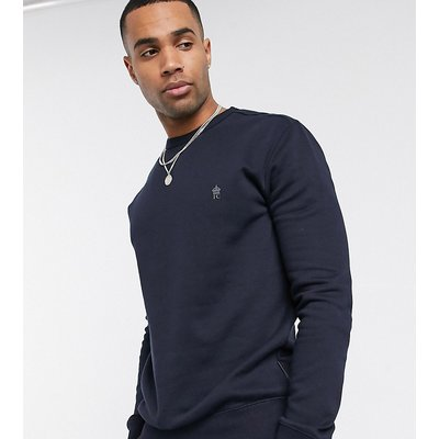 French Connection Tall – Essentials – Sweatshirt mit Logo-Navy | FRENCH CONNECTION SALE