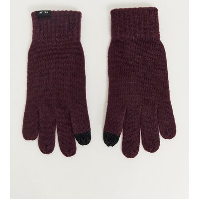 French Connection – Touchscreen-Handschuhe-Rot