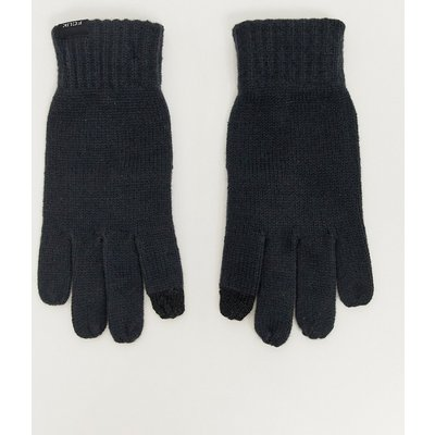 French Connection – Touchscreen-Handschuhe-Grau