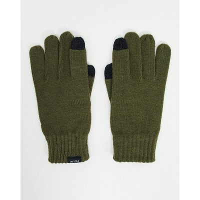 French Connection – Touchscreen-Handschuhe in Khaki-Grün | FRENCH CONNECTION SALE