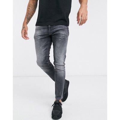G-Star – 2 d-staq 3D – Schmal geschnittene Jeans-Blau | G-STAR SALE