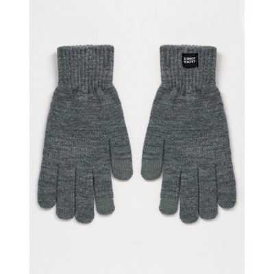 Jack & Jones – Graue Handschuhe
