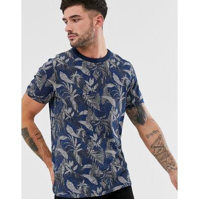 Jack & Jones – Hochwertiges, bedrucktes T-Shirt in Blau