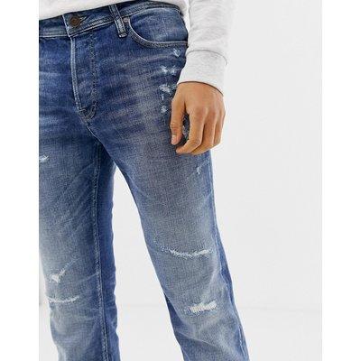 Jack & Jones Originals – TIM – Jeans in enger Passform-Blau