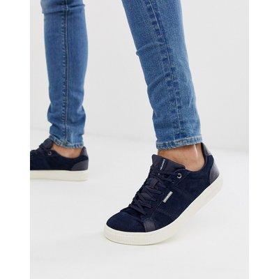 Jack & Jones – Sneaker aus Nubukleder-Navy