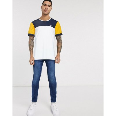 Jack & Jones – T-Shirt mit Rundhalsausschnitt-Gelb | JACK & JONES SALE