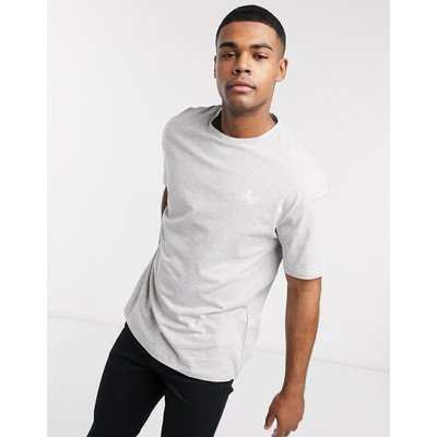 Jack & Jones – Übergroßes T-Shirt-Grau