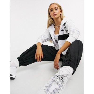 Kappa – Bail Banda – Weiße Jacke mit Reißverschluss