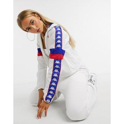 Kappa – Bellanta – Jacke mit Reißverschluss-Weiß