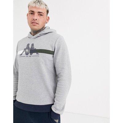 KAPPA Kappa – Duccio – Kapuzenpullover mit Logo-Grau