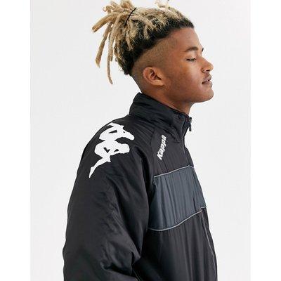 KAPPA Kappa – Jacke mit durchgängigem Reißverschluss-Schwarz