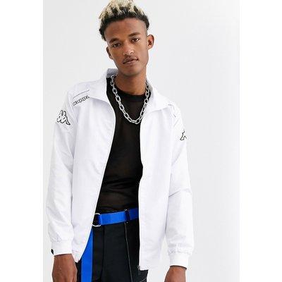 KAPPA Kappa – Jacke mit durchgängigem Reißverschluss-Weiß