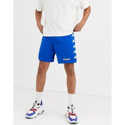 KAPPA Kappa – Shorts mit seitlichem Logo und Kordelzug-Blau