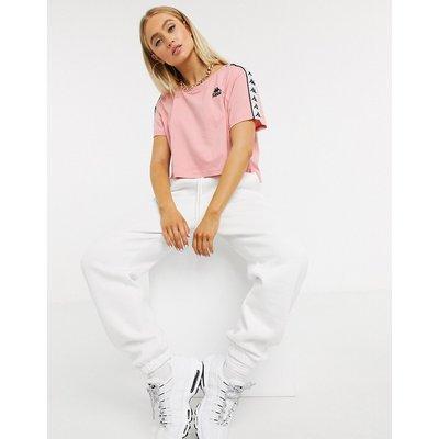 Kappa – T-Shirt in Rosa