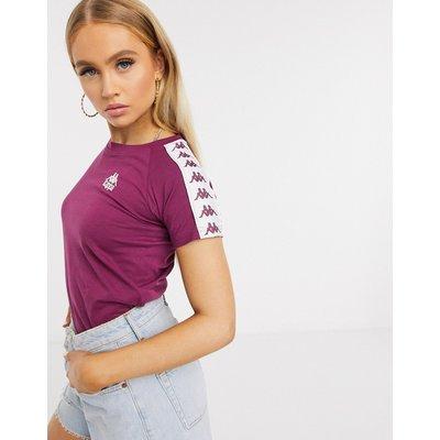 Kappa – T-Shirt in Violett