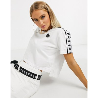 Kappa – T-Shirt in Weiß