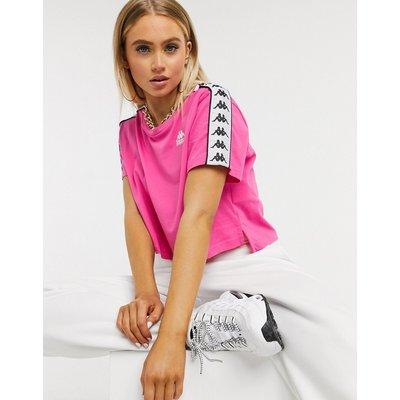 Kappa – T-Shirt inLeuchtendrosa