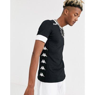 KAPPA Kappa – T-Shirt mit seitlichem Logo-Schwarz