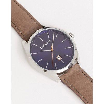 Lacoste – Armbanduhr mit blauem Zifferblatt-Braun