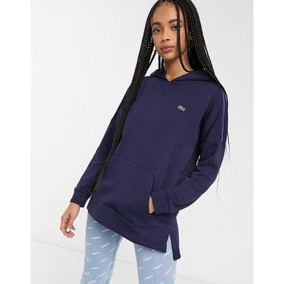 Lacoste – Blauer Kapuzenpullover