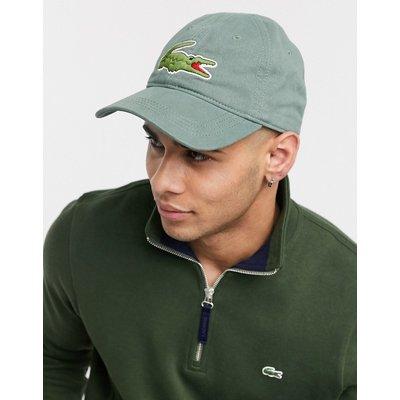Lacoste – Kappe mit Logo-Grau