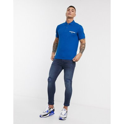 Lacoste – Polohemd mit Logo-Blau