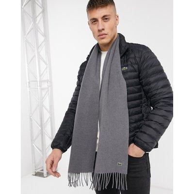 Lacoste – Schal-Grau