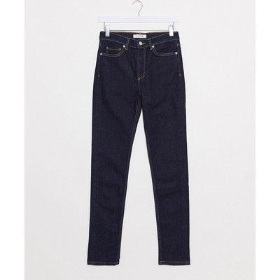 Lacoste – Schmal geschnittene Jeans-Schwarz