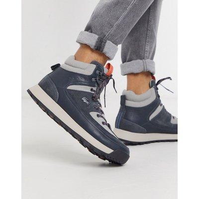 Lacoste – Urban Breaker – Graue Wander-Boots