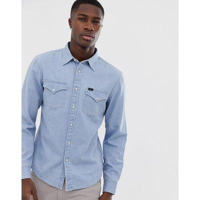 Lee Jeans – Jeanshemd im Westernstil-Blau
